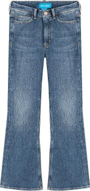Marty Cropped Flare Jeans