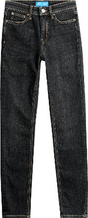 Mid Rise Ankle Jeans