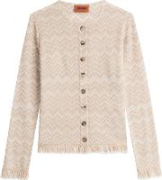 Cardigan With Wool