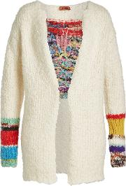 Cardigan With Wool, Alpaca And Mohair