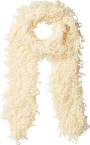 Scarf With Wool And Mohair