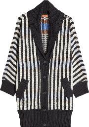 Wool Cardigan With Cashmere