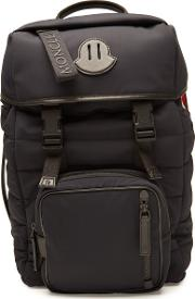 Chute Backpack With Leather