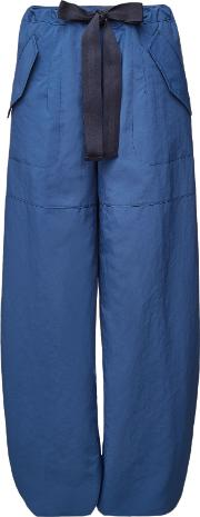 2 Moncler 1952 Pants With Elasticated Cuffs