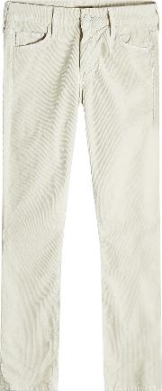The Looker Cropped Corduroy Skinny Jeans