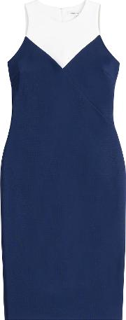 Two Tone Sheath Dress