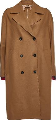 N&deg 21 Wool Coat With Cashmere