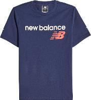 New Balance Printed Cotton T Shirt