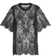 Off White Lace T Shirt