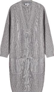 Cardigan With Wool And Cashmere