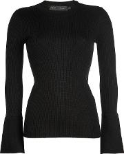 Knit Pullover With Silk And Cashmere