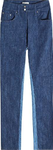 Two Tone Slim Jeans