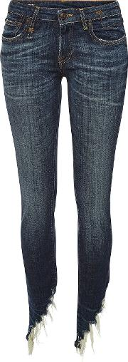 Kate Skinny Jeans With Distressed Detail