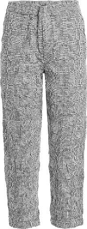 Pj Pant Textured Trousers In Wool And Cotton