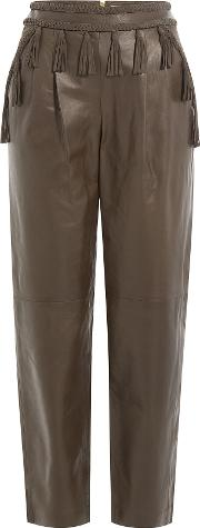 Leather Nora Pants
