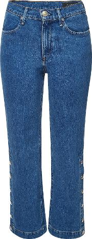 Snap Dylan Jeans With Buttoned Sides