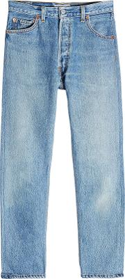 High Rise Ankle Crop Straight Leg Jeans