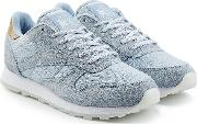 Mesh And Suede Sneakers