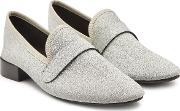 Maestro Glitter Loafers With Leather