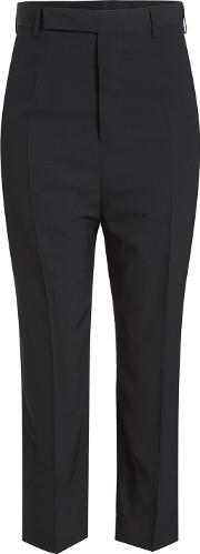 Easy Astaires Cropped Pants With Wool