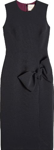 Shift Dress With Bow