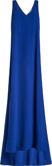 Twist Back Crepe Gown