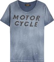 Motorcycle Cotton T Shirt