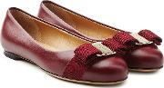 Varina Leather Ballet Flats