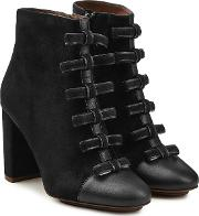 See By Chloe Ankle Boots With Leather And Suede