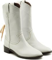 See By Chloe Devon Leather Ankle Boots