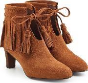 See By Chloe Irina Suede Ankle Boots