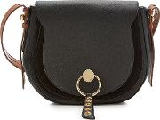 See By Chloe Shoulder Bag With Leather And Suede