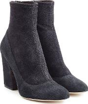 Virgina Suede Ankle Boots