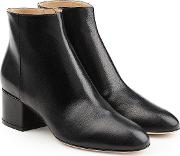 Virginia Leather Ankle Boots