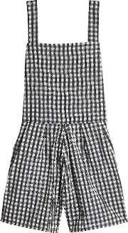 Printed Playsuit With Cotton