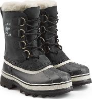 Caribou Suede And Rubber Short Boots