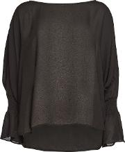 Blouse With Cut Out Detail On Sleeves