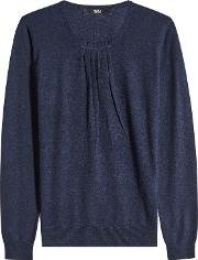 Knit Pullover With Cashmere