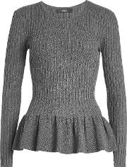 Pullover With Peplum