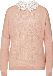 Romance Pullover With Embellishment