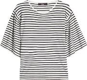 Striped Top With Cashmere