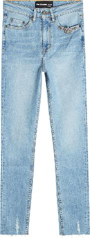 The Kooples Embellished Skinny Jeans