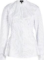 Cotton Shirt With Lace Up Sides