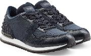 Tod's Sneakers With Suede And Leather