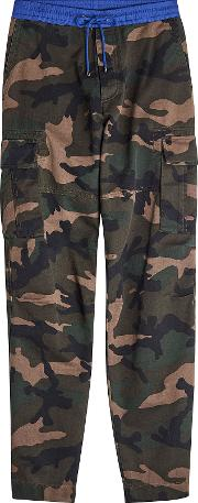 Camouflage Cotton Pants