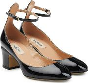 Patent Leather Tan Go Pumps