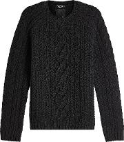 Untitled Cable Knit Pullover
