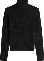 Merino Wool Turtleneck Pullover