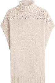 Cashmere Short Sleeved Cape Pullover