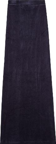X Juicy Couture Velour Maxi Skirt